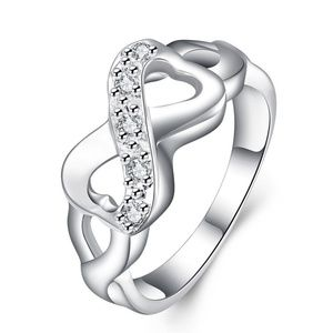 Jewelry - 🔷Mix&Match SALES Gorgeous Infinity Hearts Ring